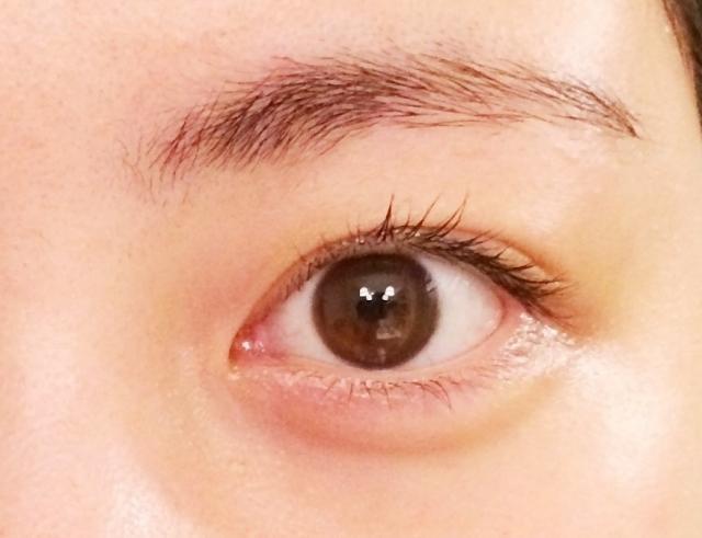 マツゲと眉毛で印象が変わる
